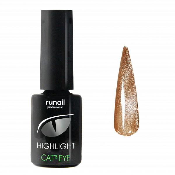 Гель-лак Cats eye Highlight №6032